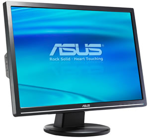 Asus VW223B: First DisplayLink certified USB monitor