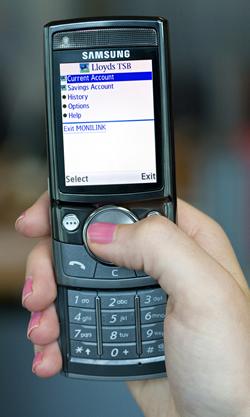 LloydsTSB Mobile Banking Mini Review