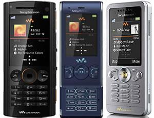 Sony Ericsson Announces W302, W595 and W902 Walkman Handsets