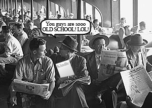 Amazon To Launch Newspaper Reader?