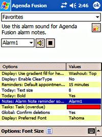 Agenda Fusion v7.85 PIM for Pocket PC Review