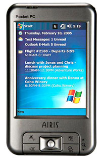 Airis Releases Bargain Basement PDAs With GPS