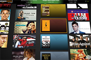 Amazon's 3D 'Windowshop' Web Interface Serves Up Eye Candy Feast