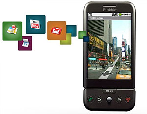 Android T-Mobile G1 Handset Launched