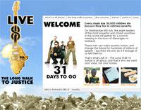 AOL To Broadcast Live 8 Event