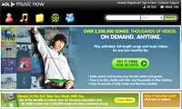 AOL Revamps Music Now Online Service