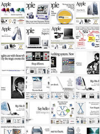 Apple.com Homepages Collected On Flickr