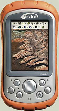Archer Field PC 'Extreme Environments' Pocket PC