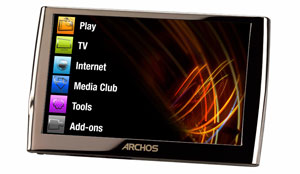 Archos 5 Internet Media Tablet Released