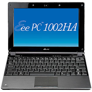 Asus EeePC 1002HA Netbook Announced