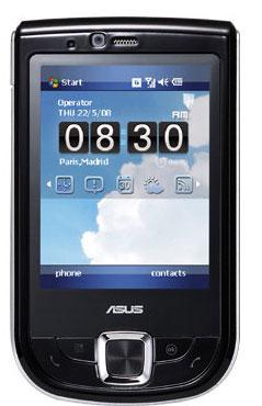 Asus P565 WM handset Claims