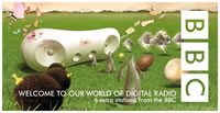 BBC DAB Xmas campaign