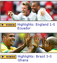 BBC World Cup Website Scores!