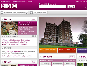 BBC Website To Become