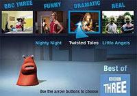 BBC THREE Trials New Multi-Screen Application