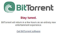 BitTorrent Launches Legal Download Service