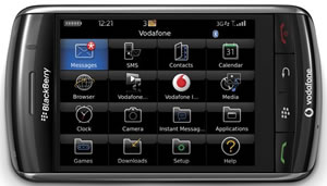 Blackberry Storm: Vodafone Details Call Plans