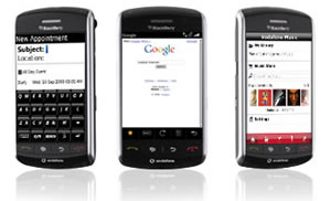 Blackberry Storm: Vodafone Get Exclusive