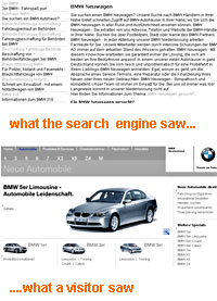 BMW Punished By Google For Porn Tricks