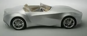 BMW: Flexible Skin On The Z8