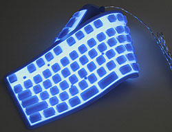 Brando Flexible Illuminated Full Sized Keyboard