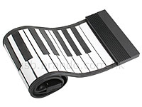 USB Roll-Up Keyboard And Drum Kit