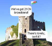 Wales First For BT's 21CN Next-Gen Network Rollout