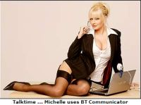 BT resort to soft porn to sell BT Communicator?