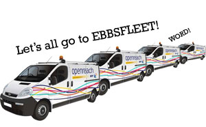 BT Serves Up 100Mbps Broadband For Ebbsfleet