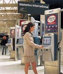 BT Abandons Internet Kiosk Empire