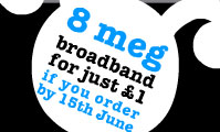 Bulldog Launches 8 Meg Broadband Service