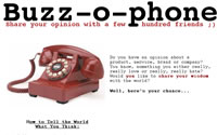 Buzz-o-Phone - A New Form On The Web