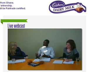 Cadbury's Live Dairy Milk Become Fairtrade-Certified Webcast