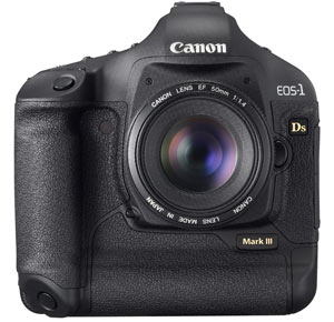 Canon EOS-1Ds Mark III Packs 21MP
