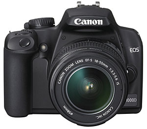 Canon EOS 1000D/Rebel XS 10MP Budget dSLR Announced