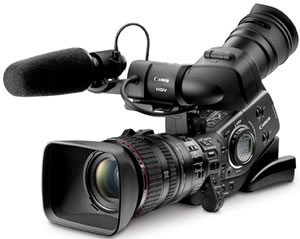 Canon XL-H1S and XL-H1A HD Video Cameras Revealed