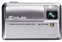 Casio Announce Superslim Exilim EX-V7 Camera