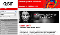 CeBIT Technology Exhibition Open In Hanover, Germany