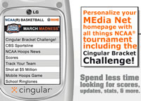 Cingular Go Mobile Content Mad with NCAA Games