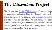 Wikipedia Co-Founder To Launch Rival Citizendium Encyclopaedia