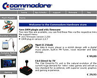Commodore Is Back With GPS Multimedia Player