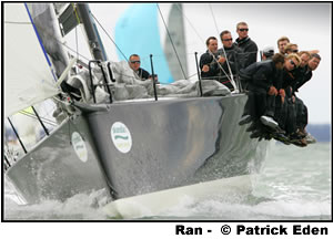 Niklas Zennstrom's Ran Wins Cowes