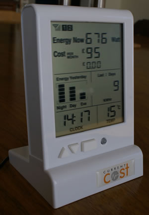 Current Cost: Review: Electricity Usage Monitor: Installation (95%)