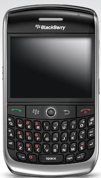 BlackBerry Curve 8900 Hits Vodafone UK, T-Mobile US