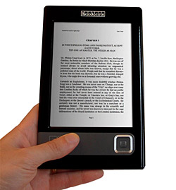 Cybook's Gen3 E-book Reader Hits The UK