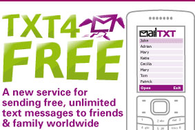 Daily Mail Launches Free SMS Service