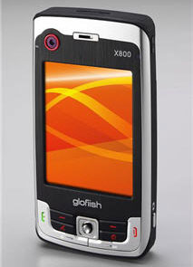 E-TEN Glofiish X800 3.5G Windows Mobile Smartphone