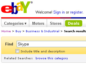 eBay To Sell Off Skype? Speculation Grows