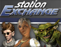 Everquest II Online Auction Site offered by Sony's Station Exchange