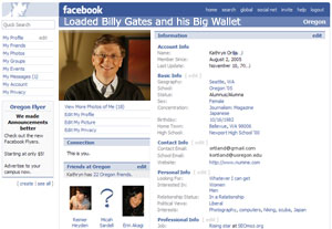 Microsoft Waves Its Weighty Wad At Facebook